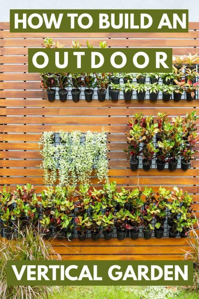 Fine How To Build An Outdoor Vertical Garden Garden Tabs Short Links Chair Design For Home Short Linksinfo