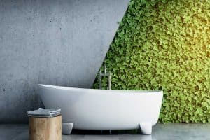 22 Bathroom Green Walls That Will Inspire You