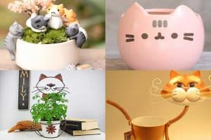 21 Cat-Shaped Planters And Pots That Will Make You Purr!