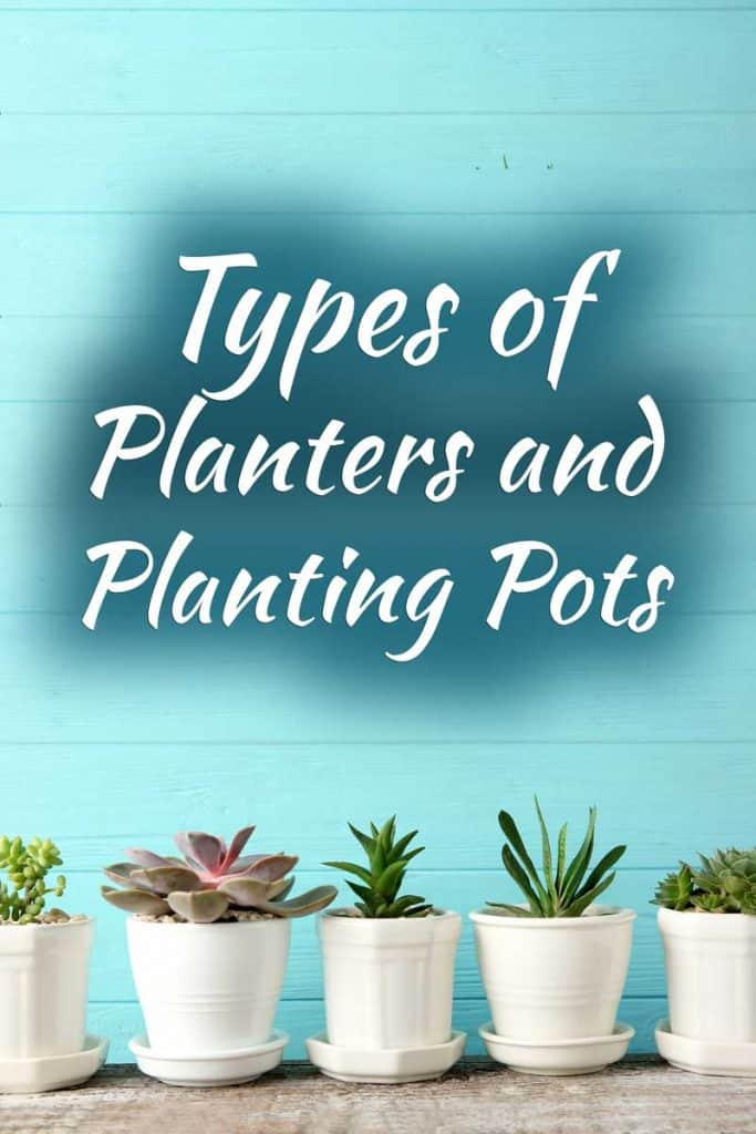 Types of Planters and Planting Pots