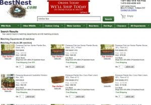 Best nest website page for windows plant boxes