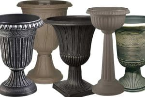 17 Plastic Garden Urns That Will Give Your Garden a Classical Touch