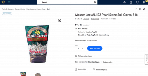 Walmart website product page