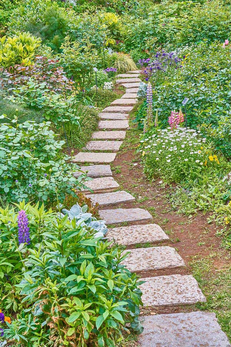75+ Garden Path Ideas You Have To Check Out - Garden Tabs