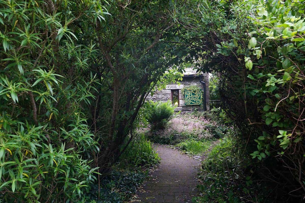 Secret garden book store