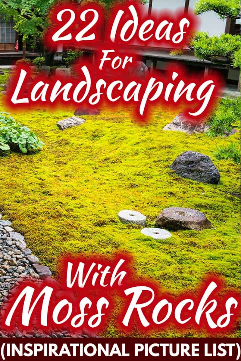 22 Ideas for Landscaping with Moss Rocks [Inspirational Picture List]