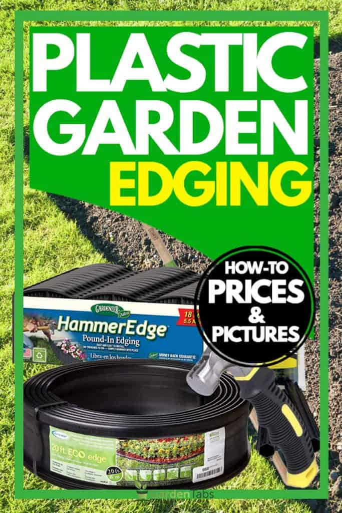 Plastic Garden Edging [How-to, Prices & Pictures]