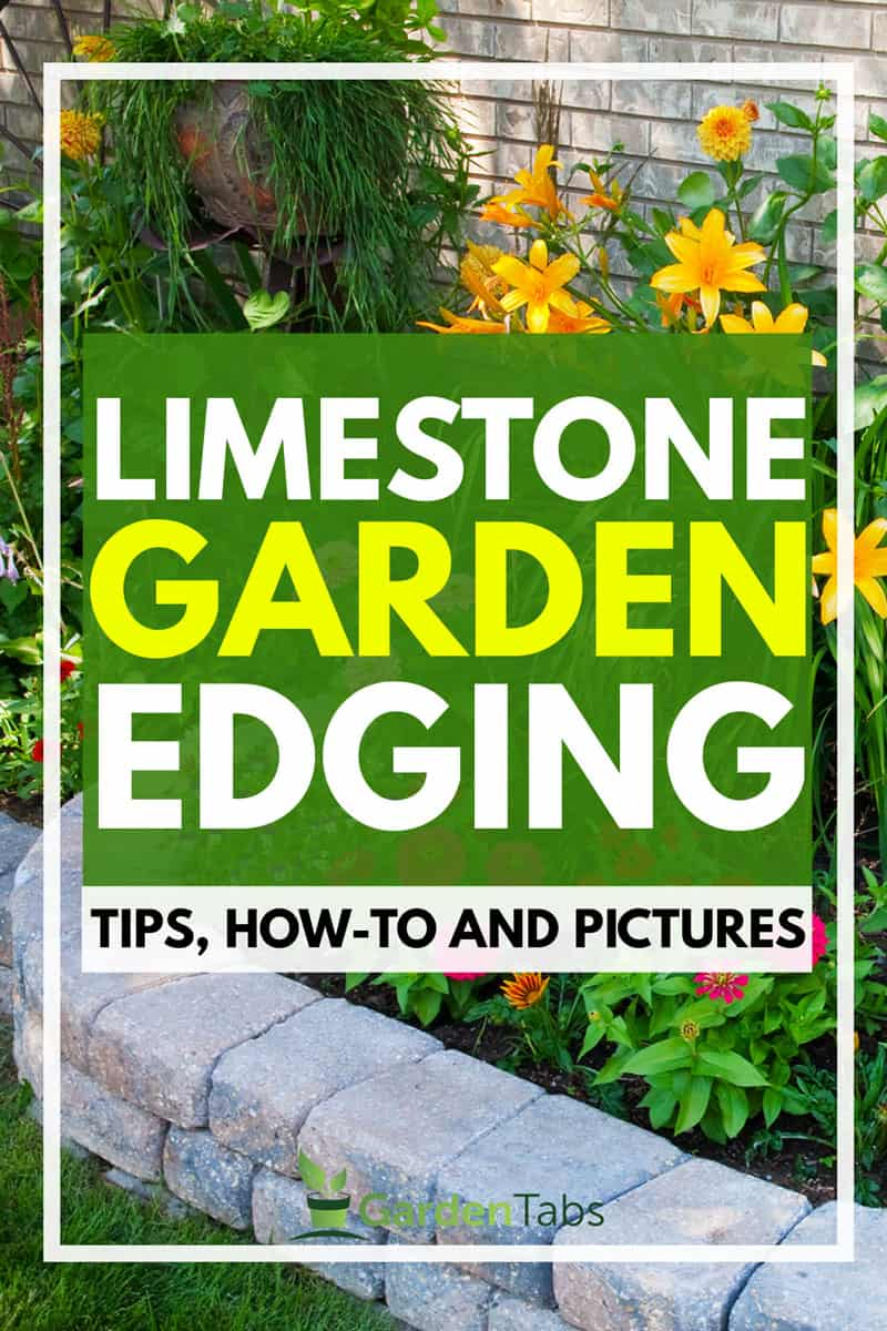 Limestone Garden Edging [Tips, How-To and Pictures]