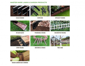 Master Mark's site for garden edging