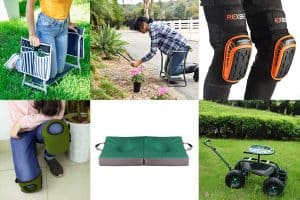10 Fantastic Heavy-Duty Garden Kneelers