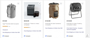 Bed Bath And Beyond website product page