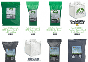 Wakefield Biochar website product page