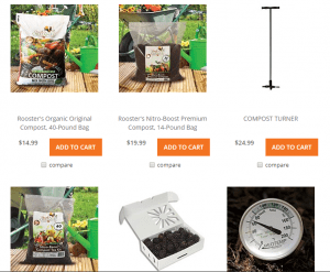 A.M. Leonard website product page