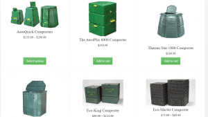 Better Greenhouses website product page