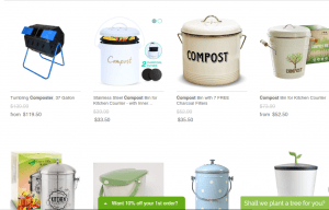 Eco Trade Company website product page