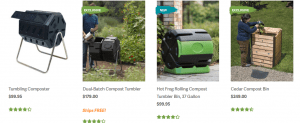 Gardener's Supply Company website product page