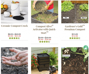 Garden's Alive website product page