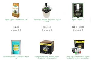 Grower's House website product page
