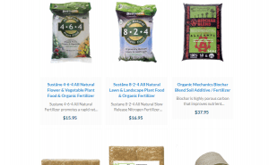 Harris Seeds website product page