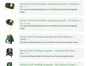 Miracle-Gro website product page