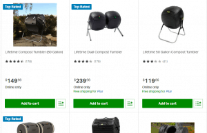 Sam's Club website product page