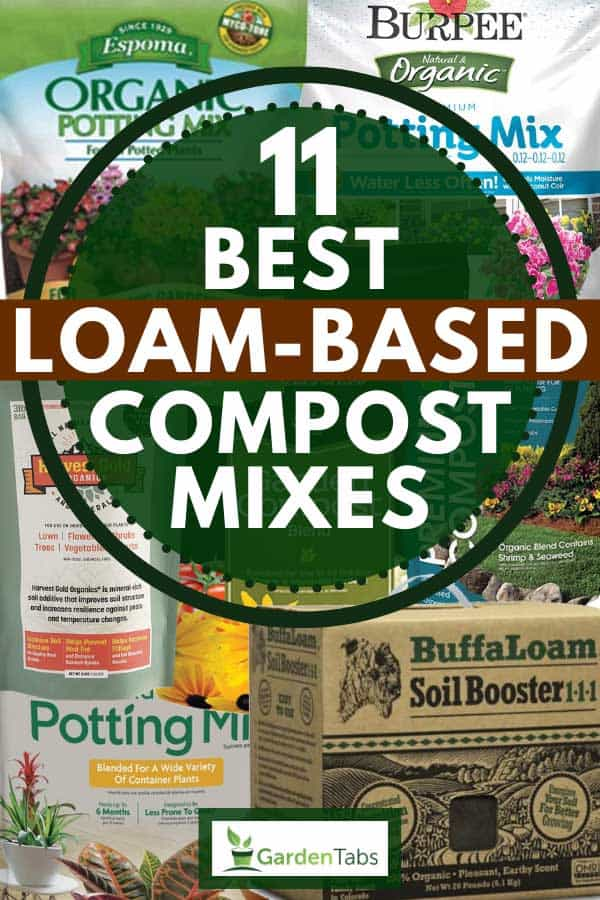 Collage of best loam-based compost mixes, 11 Best Loam-Based Compost Mixes