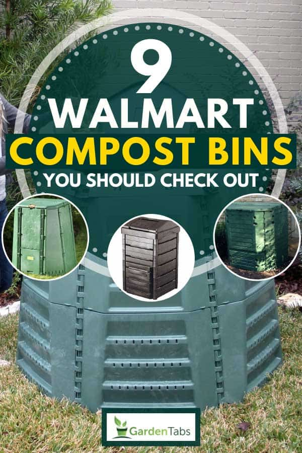 A collage of walmart compost bins, 9 Walmart Compost Bins You Should Check Out