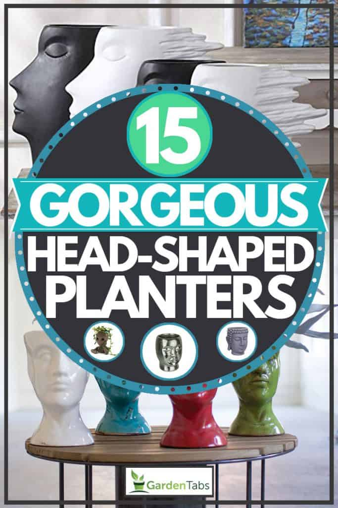 Head planter products, 15 Gorgeous Head-Shaped Planters