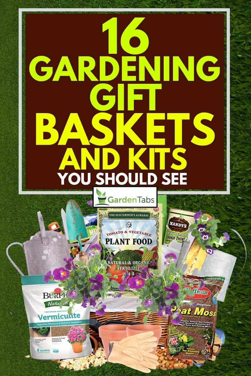 A gardening gift boxes full of gardening kits, 16 Gardening Gift Baskets And Kits You Should See
