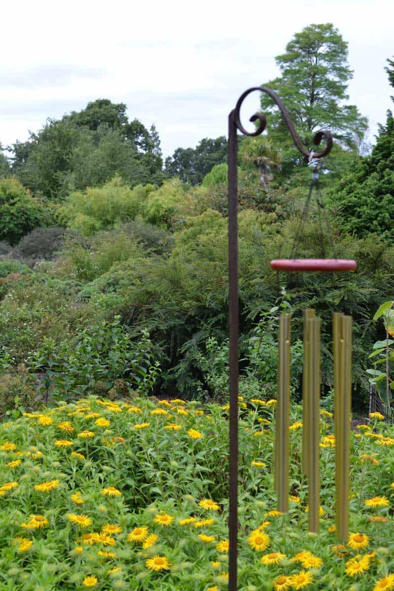 Ornamental garden wind chime.