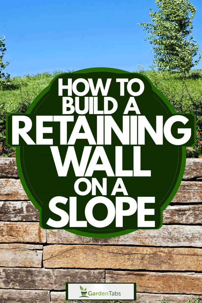 A retaining wall made out of decorative rocks, How To Build A Retaining Wall On A Slope