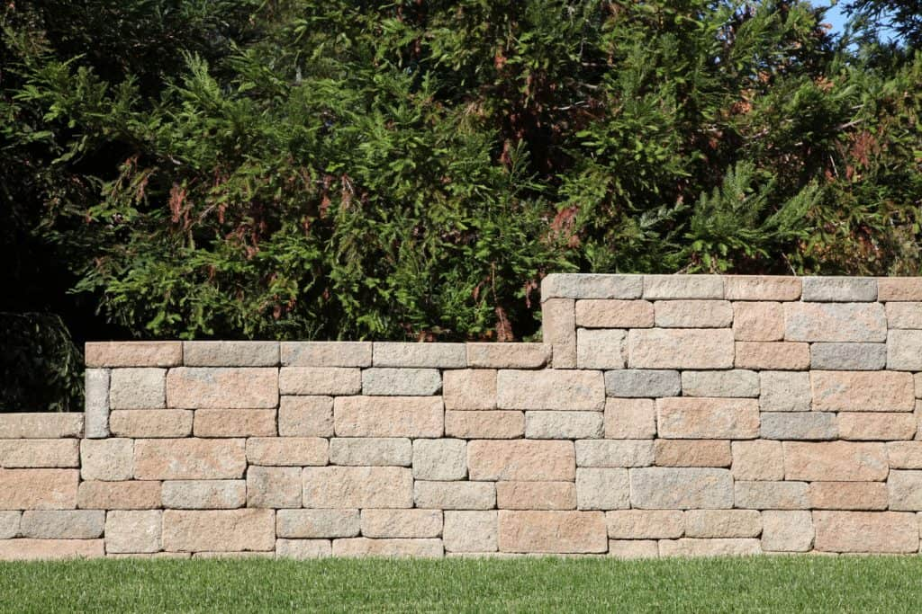 Gorgeous decorative blocks for a retaining wall